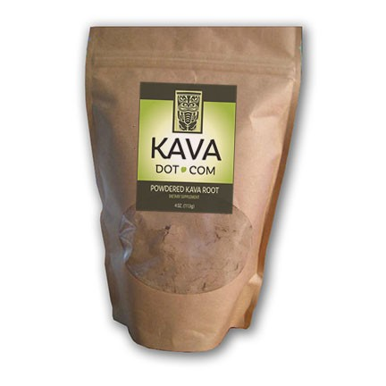 how to make kava root powder drink
