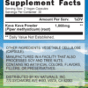 KKF Root Caps 60-Supplement Facts