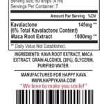 Maca root tincture kava blends