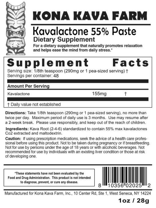 kavalactone paste
