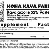 Kavalactone Paste 55% Supplement Facts