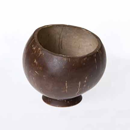 Coconut Polished Kava Cup