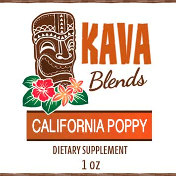 Happy Kava Blends California Poppy Tincture