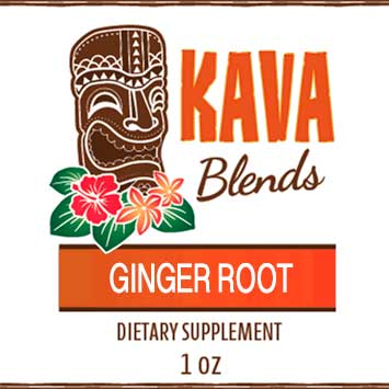 Happy Kava Blends Ginger Root Tincture
