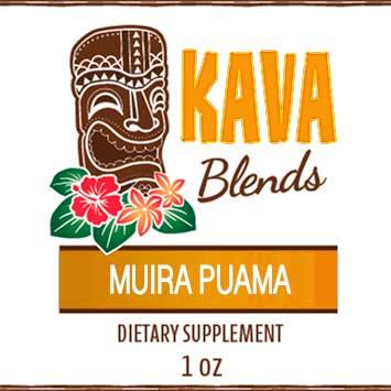 Happy Kava Blends Muira Puama Tincture
