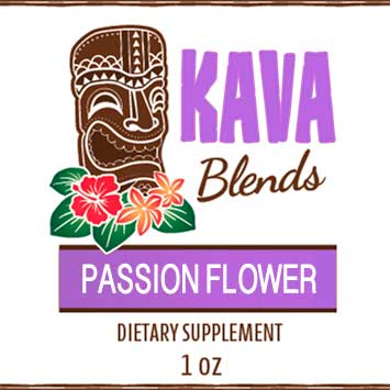 Happy Kava Blends Passion Flower Tincture
