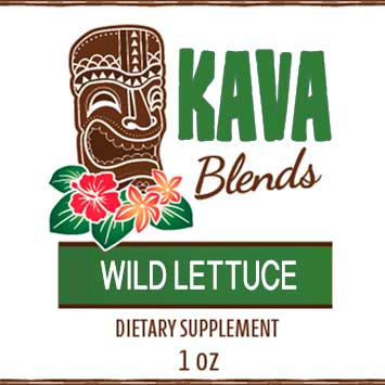 Happy Kava Blends Wild Lettuce Tincture