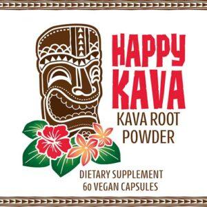 Happy Kava Brand Capsules