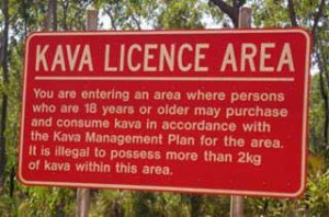 Kava legal status in Australia