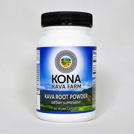 Kava Root Only Powder Capsules