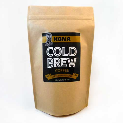 Kona Cold Brew Coffee